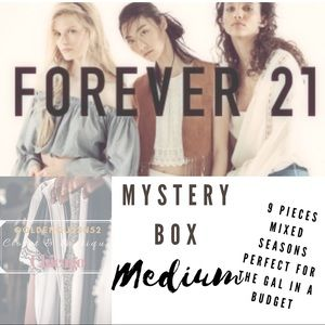 FOREVER 21 9 PIECE MYSTERY BUNDLE BOX MIXED